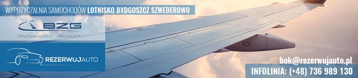wypozyczalnia samochodow lotnisko bydgoszcz szwederowo
