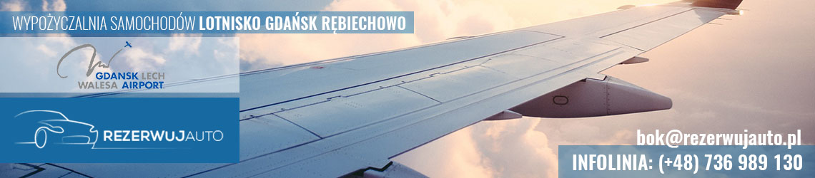 wypozyczalnia samochodow lotnisko gdansk rebiechowo