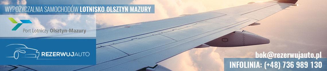 wypozyczalnia samochodow lotnisko olsztyn mazury