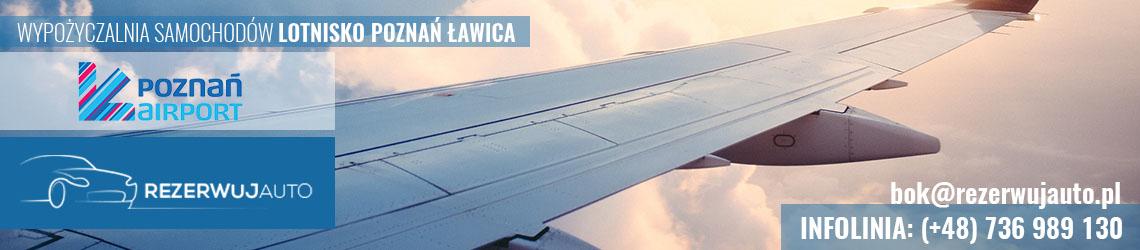 wypozyczalnia samochodow lotnisko poznan lawica
