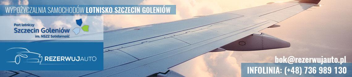 wypozyczalnia samochodow lotnisko szczecin goleniow