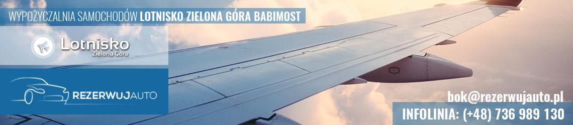 wypozyczalnia samochodow lotnisko zielona gora babimost